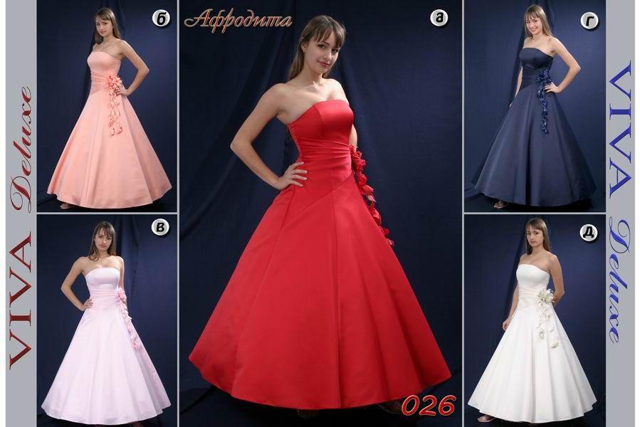 вечернее платье Афродита