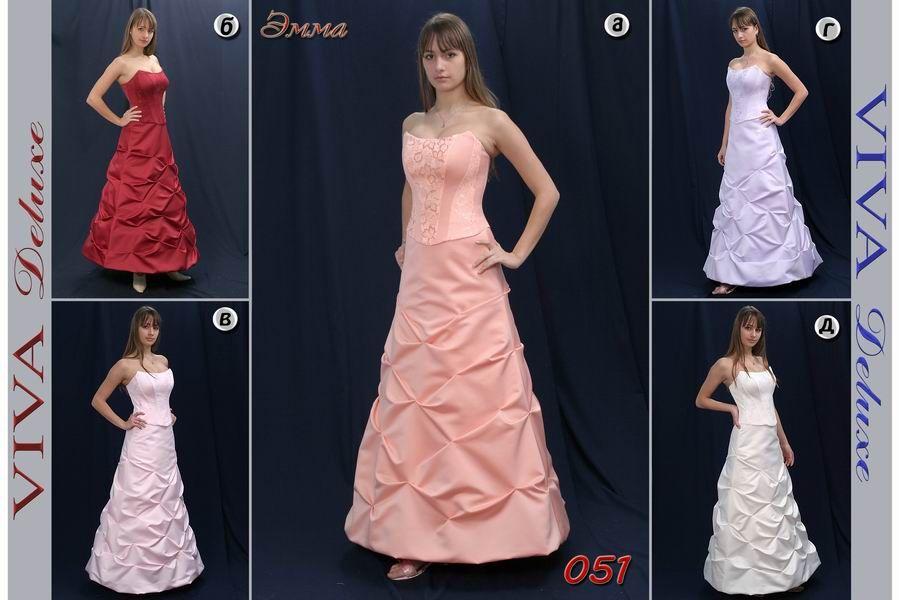 вечернее платье Эмма