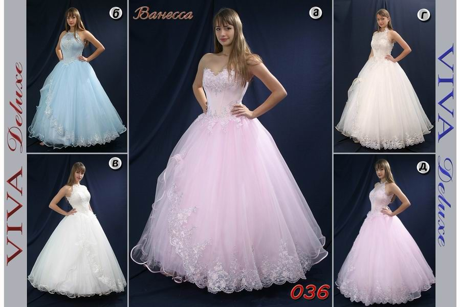 вечернее платье Ванесса