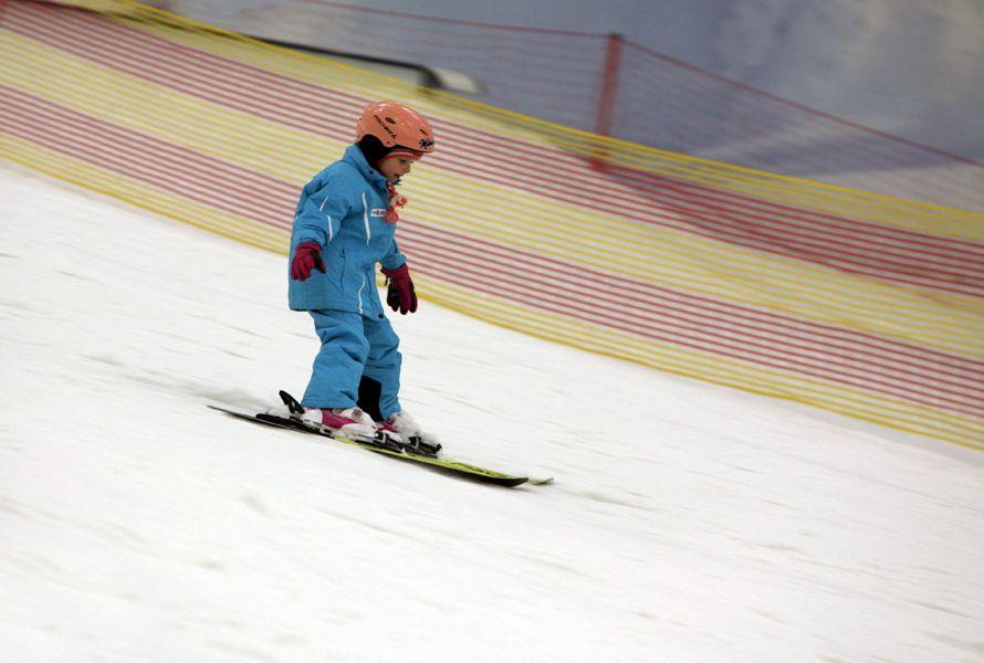 юный горнолыжник